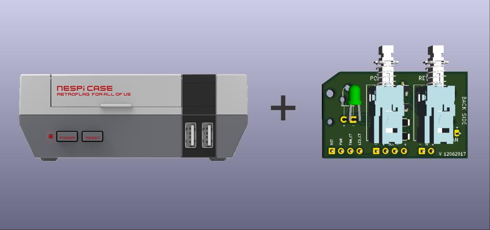 Setup your NESPI Case with RETROFLAG Control Board - mini-mods