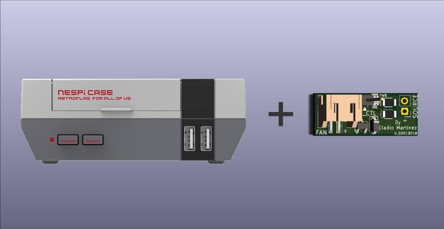 Setup Your Retroflag Nespi Case With Fan Control Board Mini Mods
